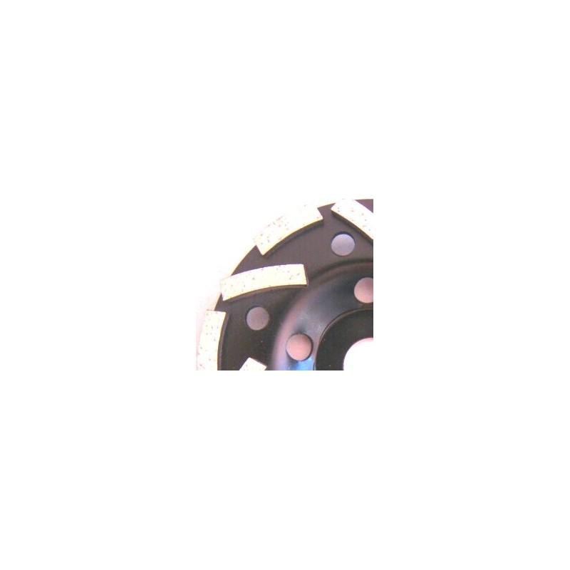 Schwarzer Spezial-Diamantschleifteller