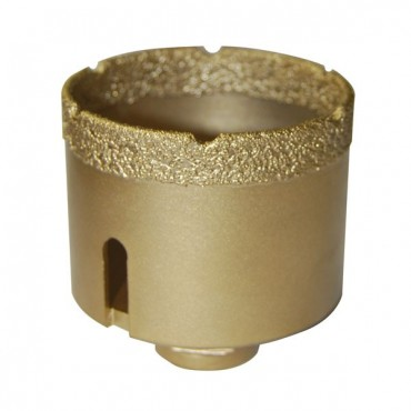 Trocken-Bohrkrone für Fliesen Ø 6 BIS 68 MM GOLD