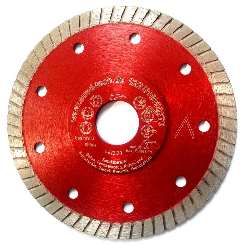 Rote Diamantscheibe Fliesen 115mm Ländle