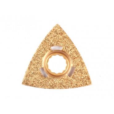 Schleif-/Raspel Dreiecksform für grobe Bearbeitung von Gestein
