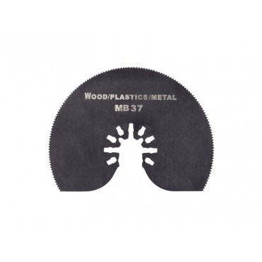 Sägeblatt halbrund flach für Holz, Plastik & Metall
